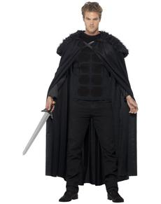 Kostuum middeleeuwse barbaar voor mannen