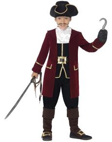 Kostuum kapitein deluxe voor jongens