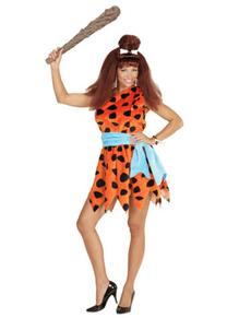 Flintstones kostuum voor vrouwen