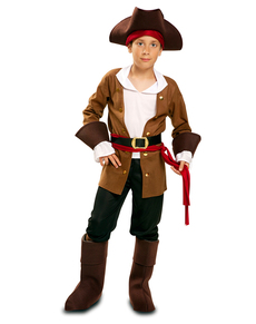 Avontuurlijke piraat kostuum voor kinderen