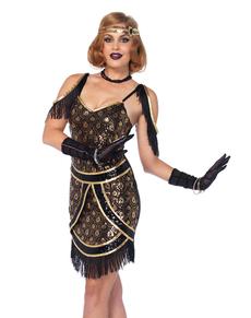Verrukkelijk cabaret kostuum voor vrouwen