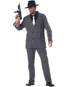 Kostuum gevaarlijke gangster voor mannen