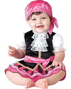Kostuum pareltje uit de zeven zeeën voor baby's