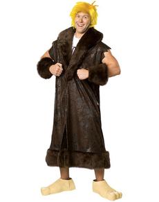 Deluxe Barney Rubble kostuum