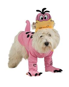 Dino van The Flintstones kostuum voor honden
